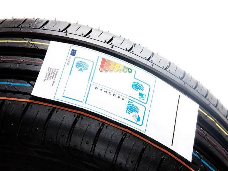 Étiquettes pour pneumatiques
